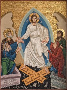 08 resurrection mosaic st georges houston texas 225x300 - Reminders for Lent and the Sacred Triduum