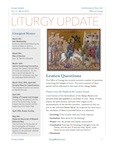 LiturgyUpdateMarch2014cover - Newsletter